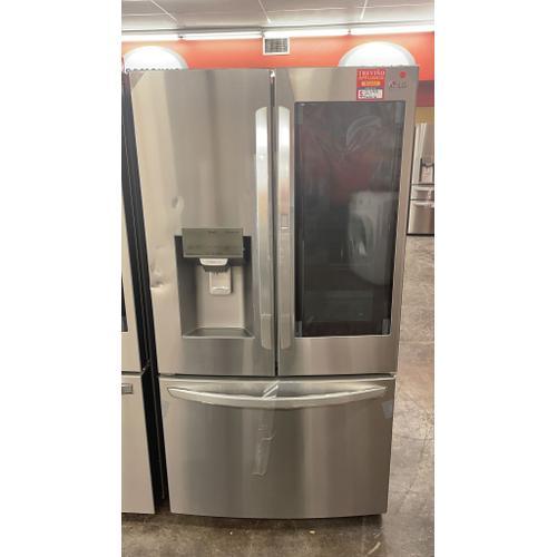 Treviño Appliance - LG French Door Smart Refrigerator with InstaView Door-in-Door in Stainless Steel