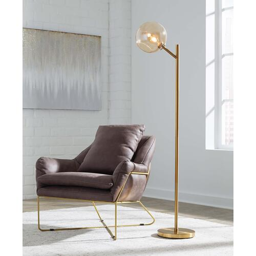 Ashley Furniture - Abanson Metal Floor Lamp