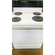 """USED- GE® 30"""" Free-Standing Gas Range- G30WHSTV-U SERIAL #108"""