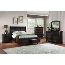 AVALON B02255-D-M-5H-5SF-56SR Astoria 3-Piece Bedroom Group - Queen Bed, Dresser & Mirror