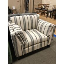 Striped Comfy Cozy Chair---Waiting to be in your Home! Only $549