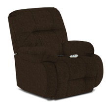 BRINLEY2 POWER ROCKER Recliner in Chocolate (8MP87-21816)