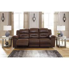 Stoneland Reclining Sofa Chocolate
