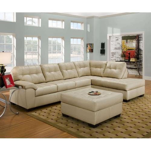 Simmons Upholstery - 9568 Pearl RAF Chaise/LAF Sofa