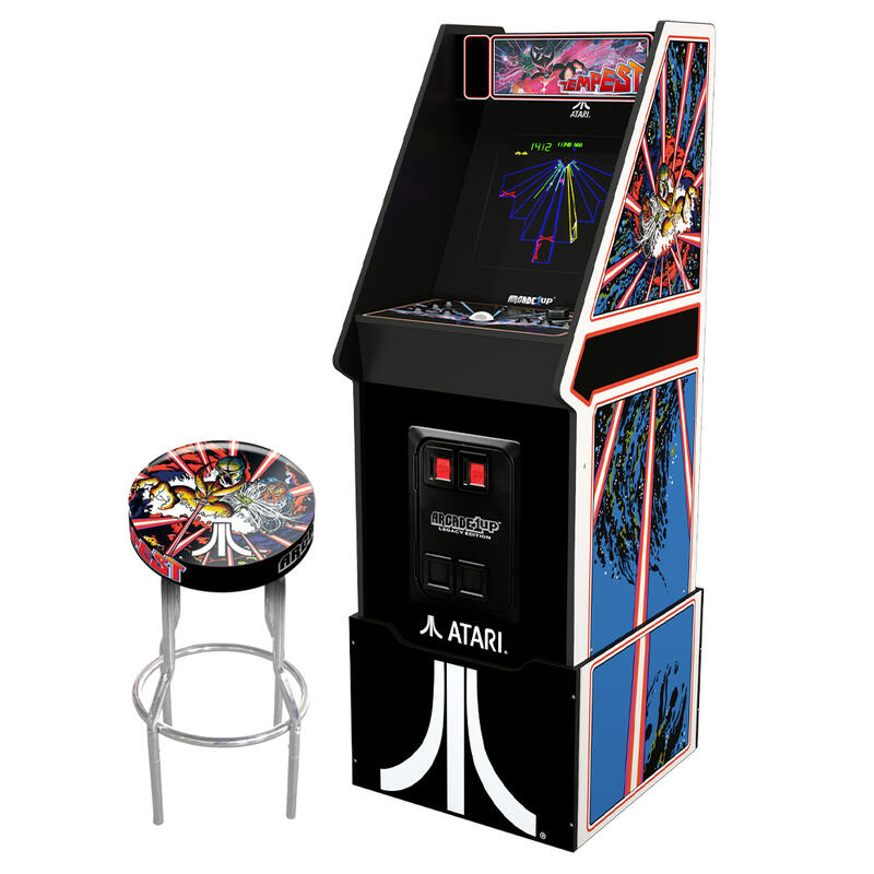 View Product - Atari Legacy Edition Arcade Machine - Tempest - with Stool