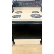 "USED- Hotpoint® 30"" Free-Standing Bisque Electric Range- E30BISCOIL-U  SERIAL #18"