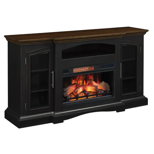 See Details - Twin Star Girard Fireplace TV Stand