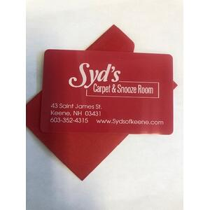 Gift Card - Syd's Gift Cards