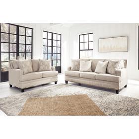 Claredon Sofa & Loveseat Linen