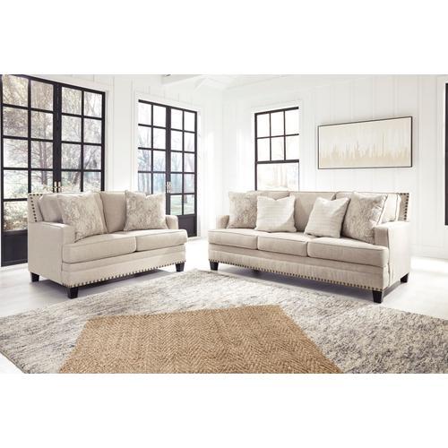 Ashley Furniture - Claredon Sofa & Loveseat Linen