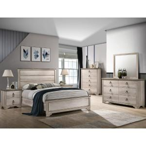 Patterson Qn Bed, Dresser, Mirror, Chest and Nightstand