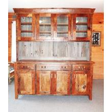 Barn Board Hutch