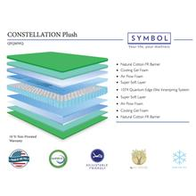The Constelation is a traditional 2 sided mattress with cooling gel