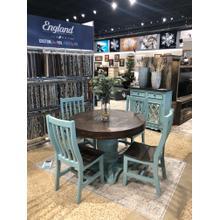 Antique Turquoise 5pc Dining Set