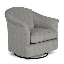 DARBY Swivel Glide Chair in Salt & Pepper          (2877-21783B,28002)