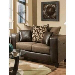 Kaylas Furniture - 110 Rodeo Loveseat - Brown