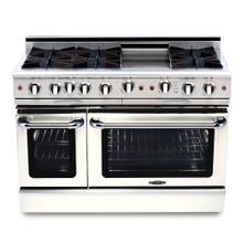 """See Details - Culinarian 48"""" Gas Self Clean Range"""
