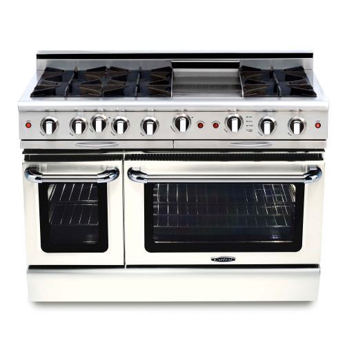"Capital - Culinarian 48"" Gas Self Clean Range"
