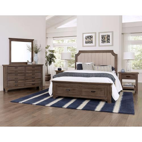 Lm Co. Home - Bungalow Double Dresser - Folkstone Finish