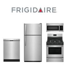 Frigidaire 4 Piece Kitchen Package. Price Valid Thru 1/31/21.