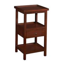 Palmer Cherry Shelf Side Table