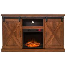 """See Details - 55"""" TV STAND W/ ELECTRIC FIREPLACE"""