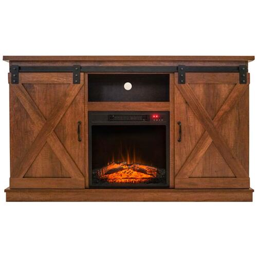 """Gallery - 55"""" TV STAND W/ ELECTRIC FIREPLACE"""