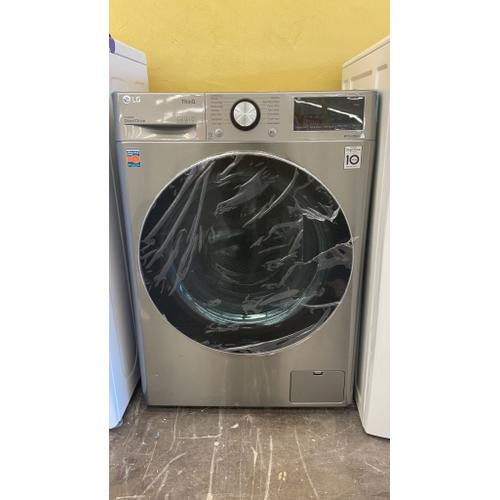 Treviño Appliance - LG Smart Front-Load Washer (Graphite Steel)