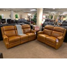 482 Leather Power Headrest Reclining Sofa & Loveseat