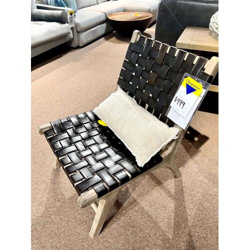 Primitive - Havana Leather Chair