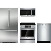 Bosch 4 Pc. Appliance Package