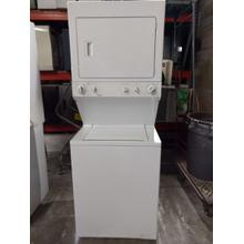 "Kenmore 27"" Stacked Laundry Center (This may be a Stock Photo, actual unit (s) appearance may contain cosmetic blemishes. Please call store if you would like additional pictures). This unit carries our 6 Month warranty, MANUFACTURER WARRANTY and REBATE NOT VALID with this item. ISI 37444 W"