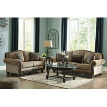 859053  Sofa and Loveseat - Briaroaks Mocha