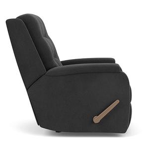 Flexsteel - Arlo Fabric Power Recliner w/ Tilt Headrest & Lumbar - 116-02