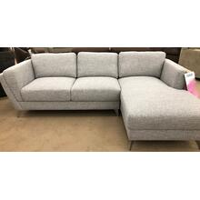 Hughes Chaise Sectional- Camal