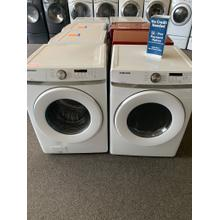 Refurbished 2020 Samsung Front Load Washer Dryer Set Please call store if you would like additional pictures. This set carries our 6 month warranty, MANUFACTURER WARRANTY AND REBATES ARE NOT VALID (Sold only as a set)