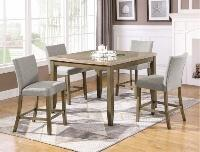 Mike 5pc Counter Height Dining Set