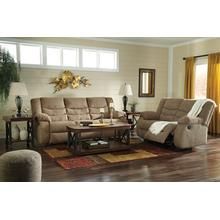 Tulen- Mocha Reclining Sofa and Loveseat