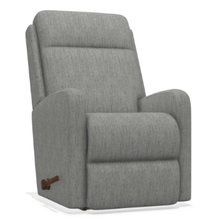Finley Chaise Rocking Recliner in Smoke     (10-747-D165664,40011)