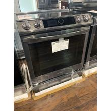 6.3 cu. ft. Front Control Slide-in Electric Range with Smart Dial, Air Fry & Wi-Fi in Black Stainless Steel**OPEN BOX ITEM** Ankeny Location