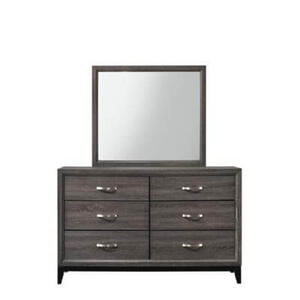 Crown Mark - Akerson Dresser Top Gray