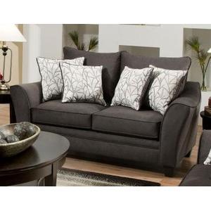 American Furniture Manufacturing - Flannel Seal Sofa