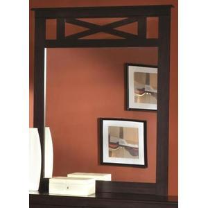 Kith Furniture - Tyler Collection Mirror in Merlot Finish