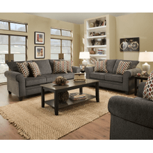 View Product - Sofa and Loveseat - Albany Pewter
