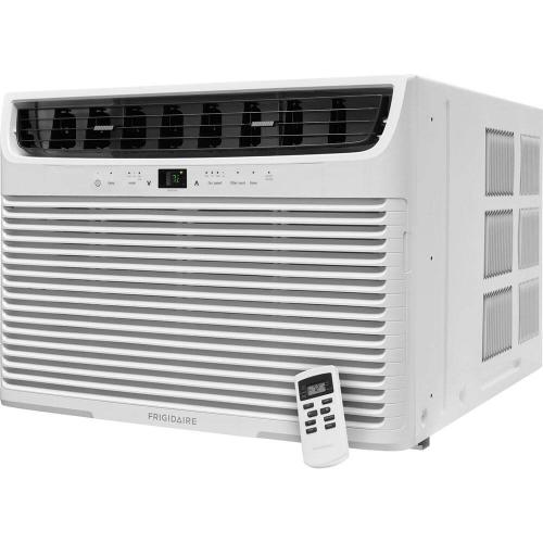 28,000 BTU 230V Window-Mounted Heavy-Duty Air Conditioner with Temperature Sensing Remote Control