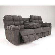 Acieona Double Reclining Sofa with Drop down console