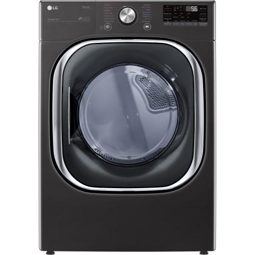 Packages - 5.0 CF Front Load Washer, Coldwash, ThinQ - Black Steel; 7.4 CF Electric Dryer, TurboSteam, ThinQ - Black Steel