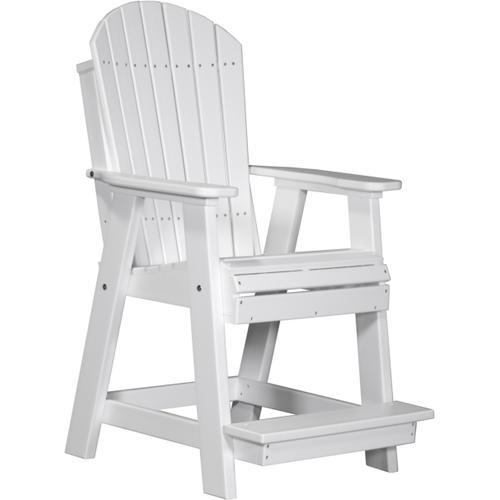 Adirondack Balcony Chair White