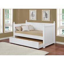 White Twin Daybed With Trundle
