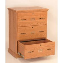 Heirwood 3 Drawer File Cabine